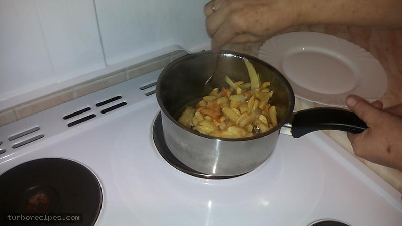 Τηγανιτές πατάτες - Βήμα 5