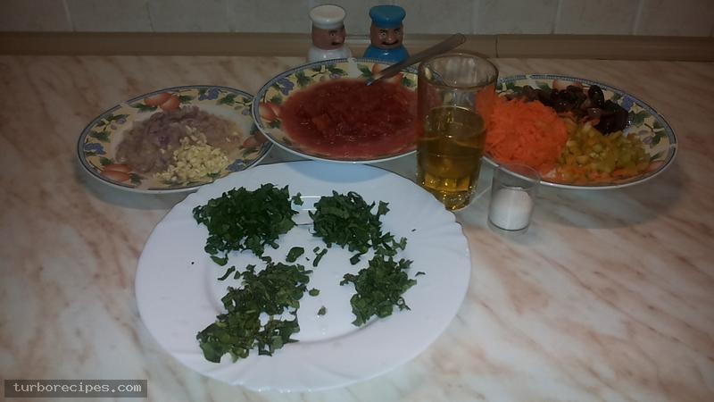 Κόκκινη σάλτσα - Βήμα 1