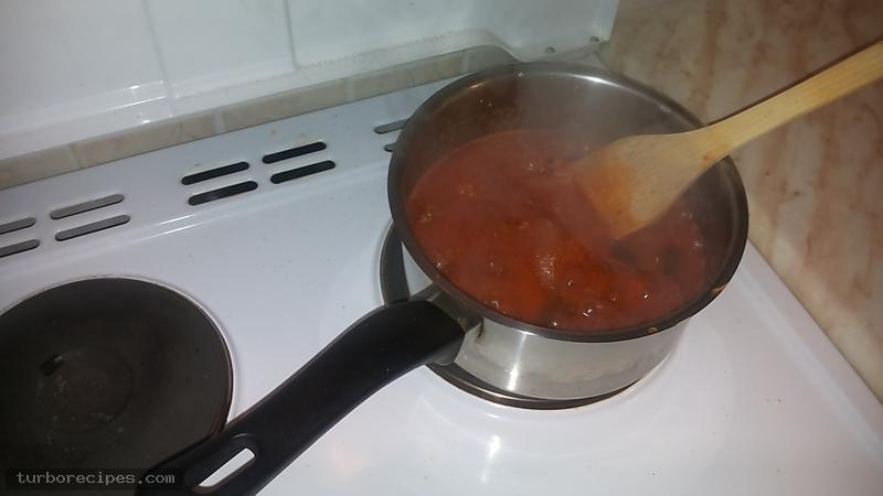 Κόκκινη σάλτσα - Βήμα 12