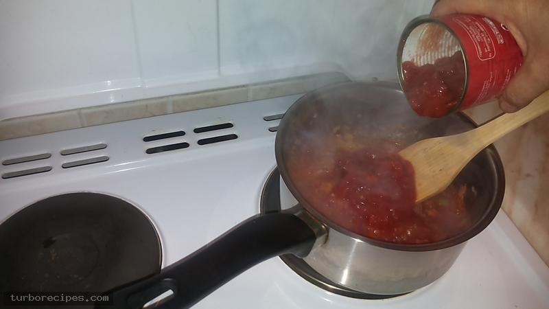 Κόκκινη σάλτσα - Βήμα 8