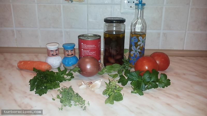 Κόκκινη σάλτσα - Υλικά συνταγής