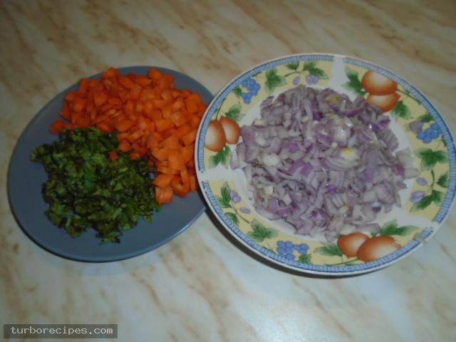 Ρεβύθια με ντομάτα - Βήμα 4