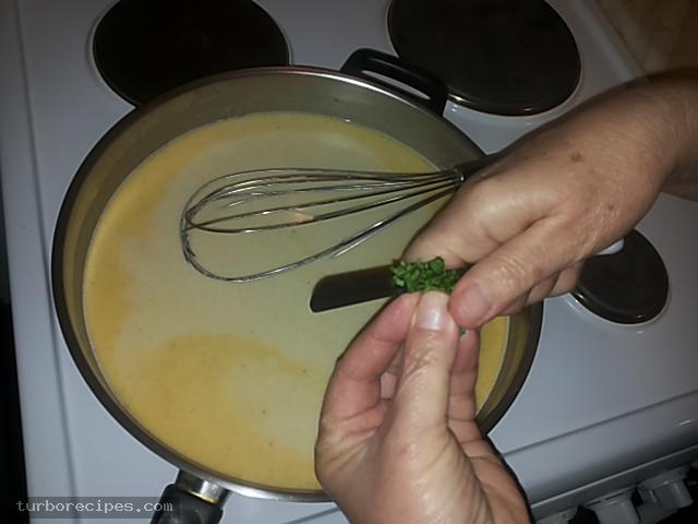 Κανελόνια με αλλαντικά και τυριά και λευκή σάλτσα - Βήμα 19