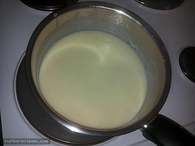 Κρέμα βανίλια με βύσσινο και μπισκοτένια βάση - Βήμα 17
