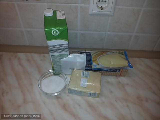 Κρέμα βανίλια με βύσσινο και μπισκοτένια βάση - Υλικά συνταγής