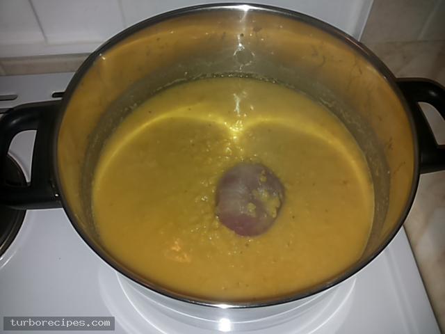 Φάβα με σοταρισμένο κρεμμύδι - Βήμα 9