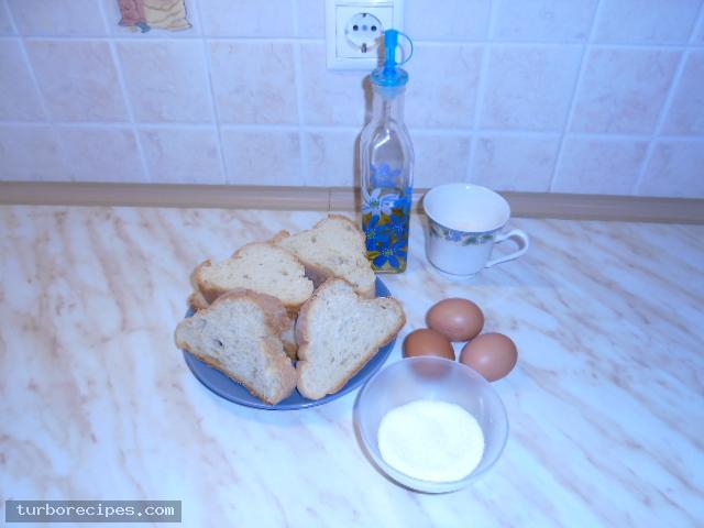Αυγόφετες - Υλικά συνταγής