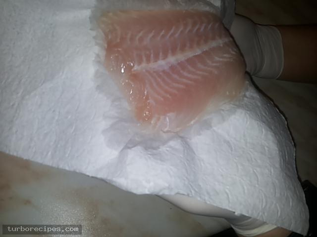 Φιλέτο ψαριού πανέ - Βήμα 1