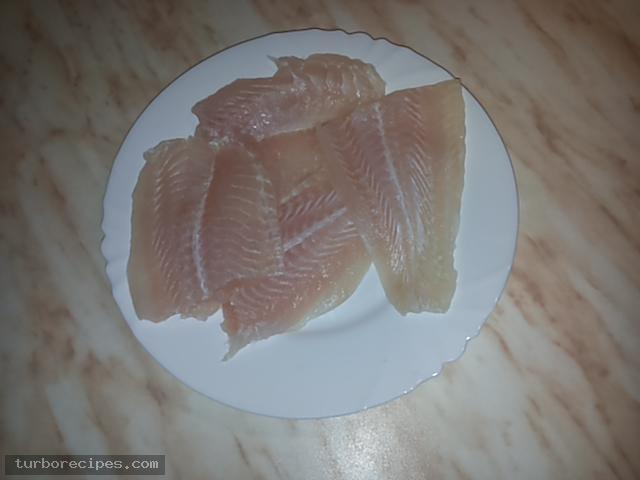 Φιλέτο ψαριού πανέ - Βήμα 2