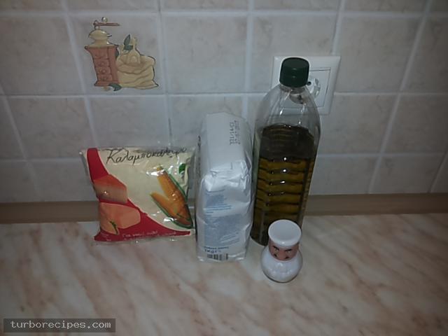 Μεξικάνικες πίτες τορτίγιες - Υλικά συνταγής