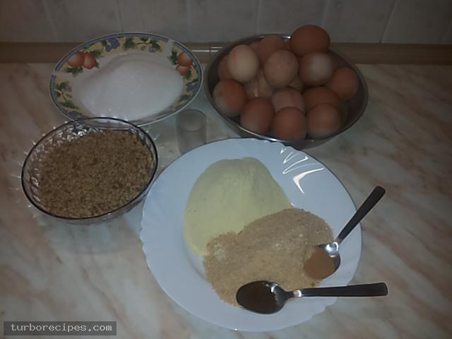 Μελαχρινή - Υλικά συνταγής