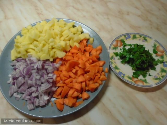 Ψαρόσουπα - Βήμα 1