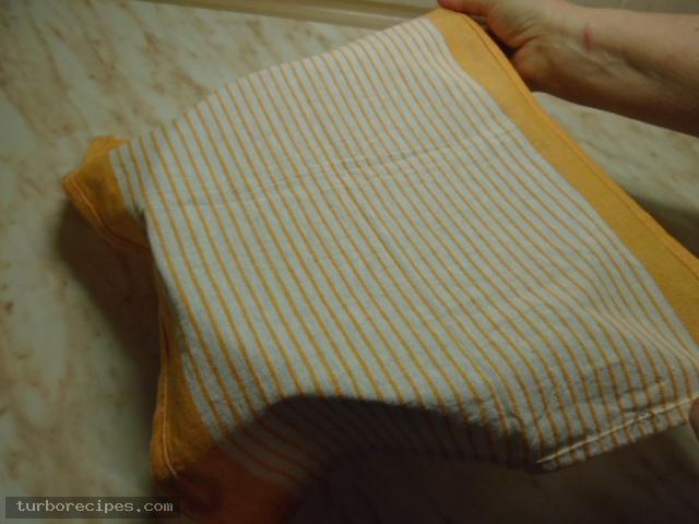 Χωριάτικο φύλλο για πίτες ή γλυκά - Βήμα 15