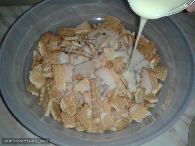 Εύκολος κορμός ψυγείου χωρίς μαγείρεμα - Βήμα 8
