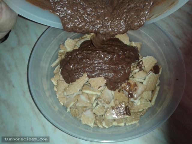 Εύκολος κορμός ψυγείου χωρίς μαγείρεμα - Βήμα 9