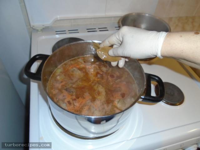 Γιουβέτσι με χοιρινό και κριθαράκι - Βήμα 14