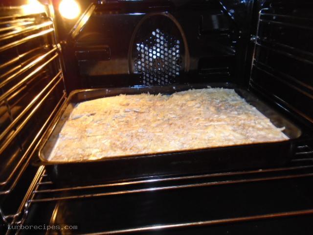 Λαζάνια με μανιτάρια και λευκή κρέμα - Βήμα 33