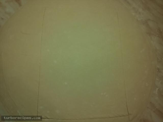 Γαλακτομπούρεκο με σπιτικό φύλλο - Βήμα 19